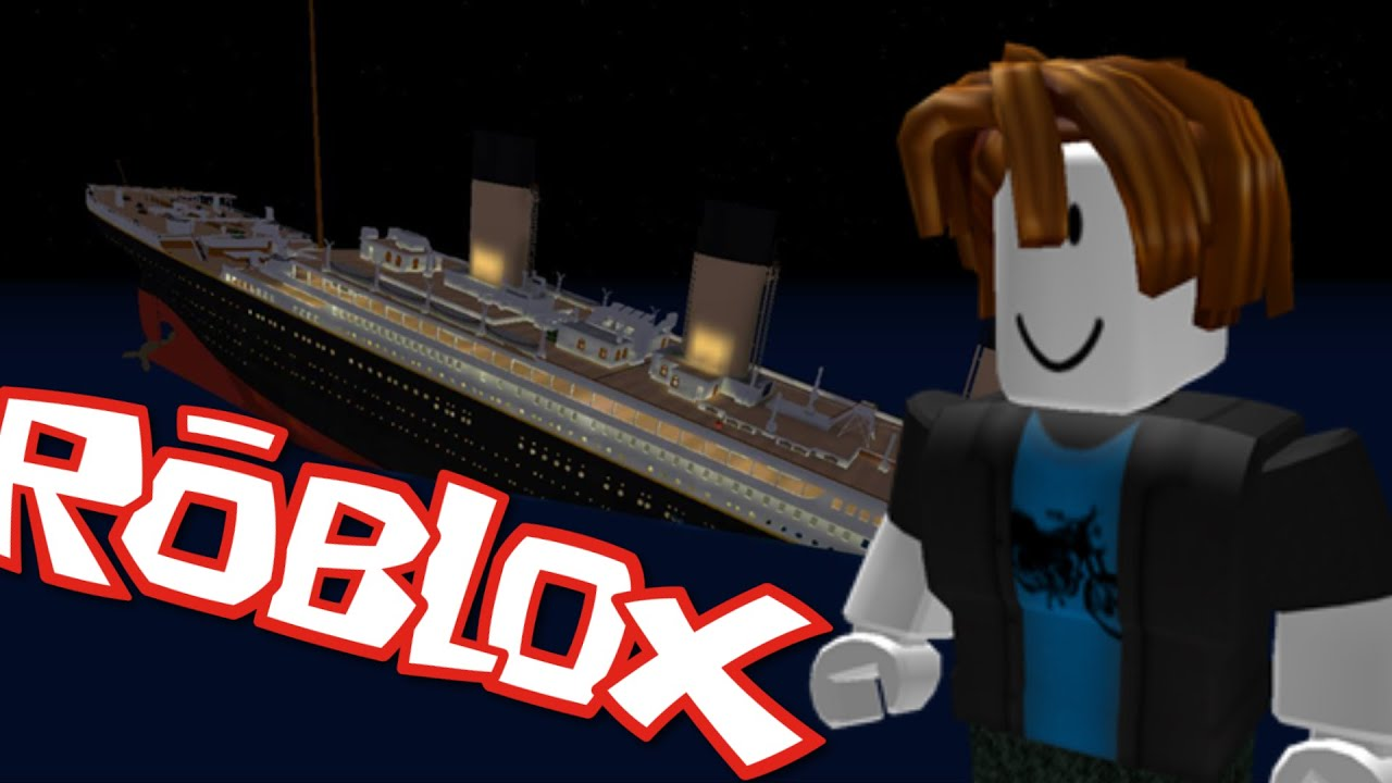 Survive The Titanic Sinking Roblox Youtube