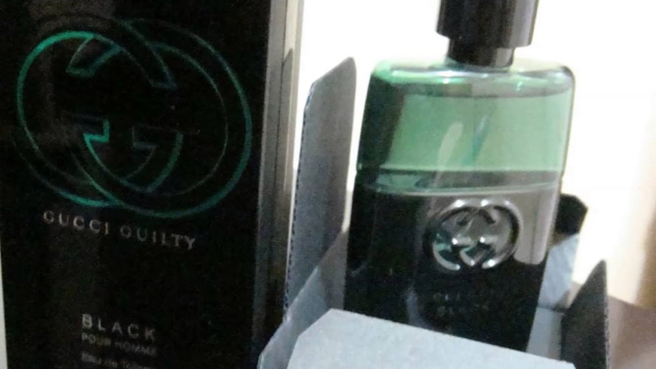 Gucci Guilty Black Pour Homme Youtube Gulity For Men