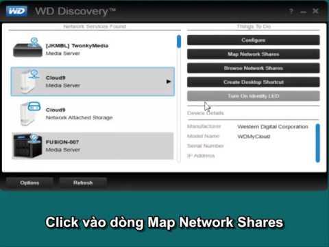 Hướng dẫn tự động Map các thư mục share trong mạng
