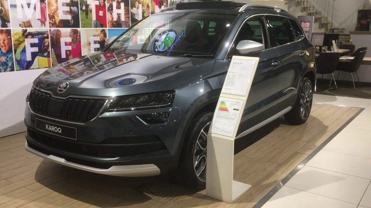 Skoda Karoq Sel Quartz Grey - Skoda Karoq Review