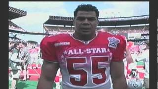 Madden NFL 2003 AFC All-Star MLB Junior Seau cameo Intro