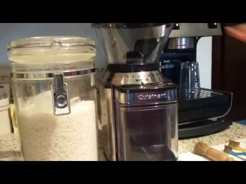 Burr Coffee Grinder Cleaning
