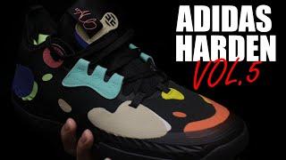 Тест кроссовок Adidas Harden Vol 5 Первые впечатления