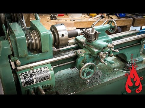 Shop update - The metal lathe