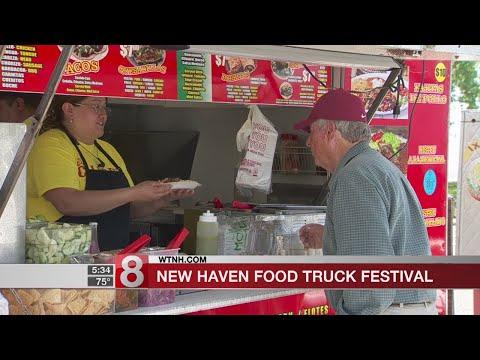 Harp speaks ahead of 4th New Haven Food Truck Festival and Dragon Boat Regatta