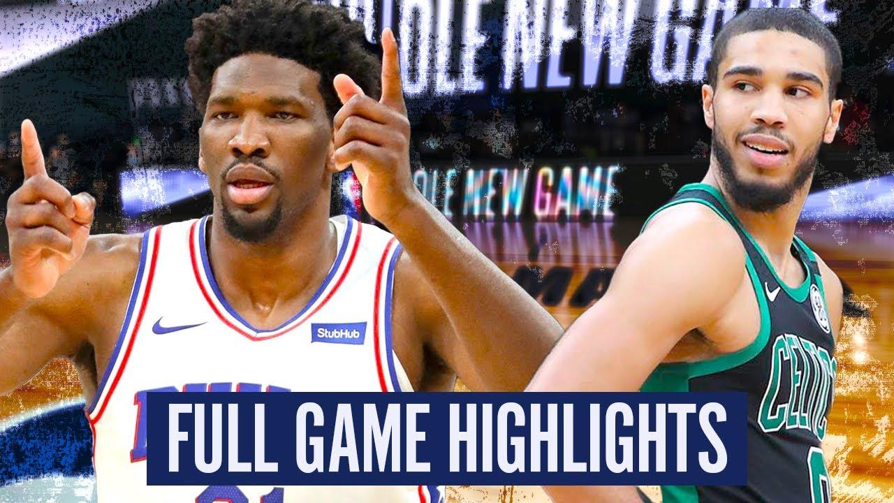 76ERS at CELTICS - FULL GAME HIGHLIGHTS | 2019-20 NBA PLAYOFFS