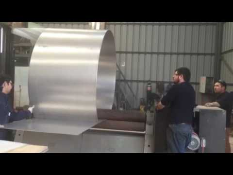 fabricacion estanque acero inoxidable youtube