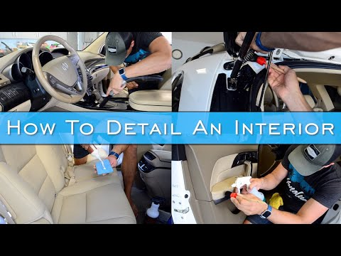 How To Detail A Car Interior | How Did I Let It Get So Bad?! | Complete Interior Car Cleaning