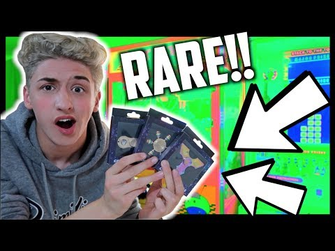 ★Winning Super Rare Fidget Spinners From The Claw Machine!! + Crazy Fidget Spinner Unboxing/Review!!