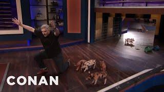 Canada's Feral Hogs Invade CONAN - CONAN on TBS