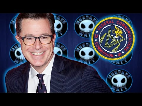WTF - The FCC is investigating Stephen Colbert over lewd Trump joke?