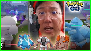 DEFEATING GIOVANNI AND TEAM ROCKET LEADERS WITH THE 'WORST' LEGENDARIES - Pokemon GO