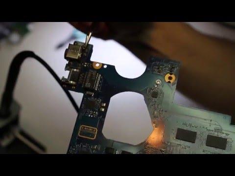 102 Ремонт ноутбука Samsung NP300E5A не включается, замена гнезда питания.