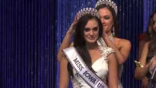 2015 Miss Iowa USA Crowning