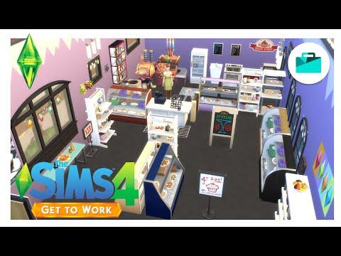 The Sims4 [Get To Work] เปิดร้านขายของกับสามี2แฝด💕