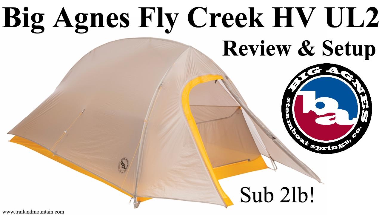 f782d0e81c Big Agnes Fly Creek HV UL2 Tent Setup & Review - YouTube