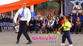amco presente en spelling bee puebla 2013