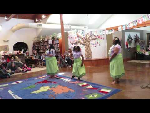 Hawaii dancers at Country Day School