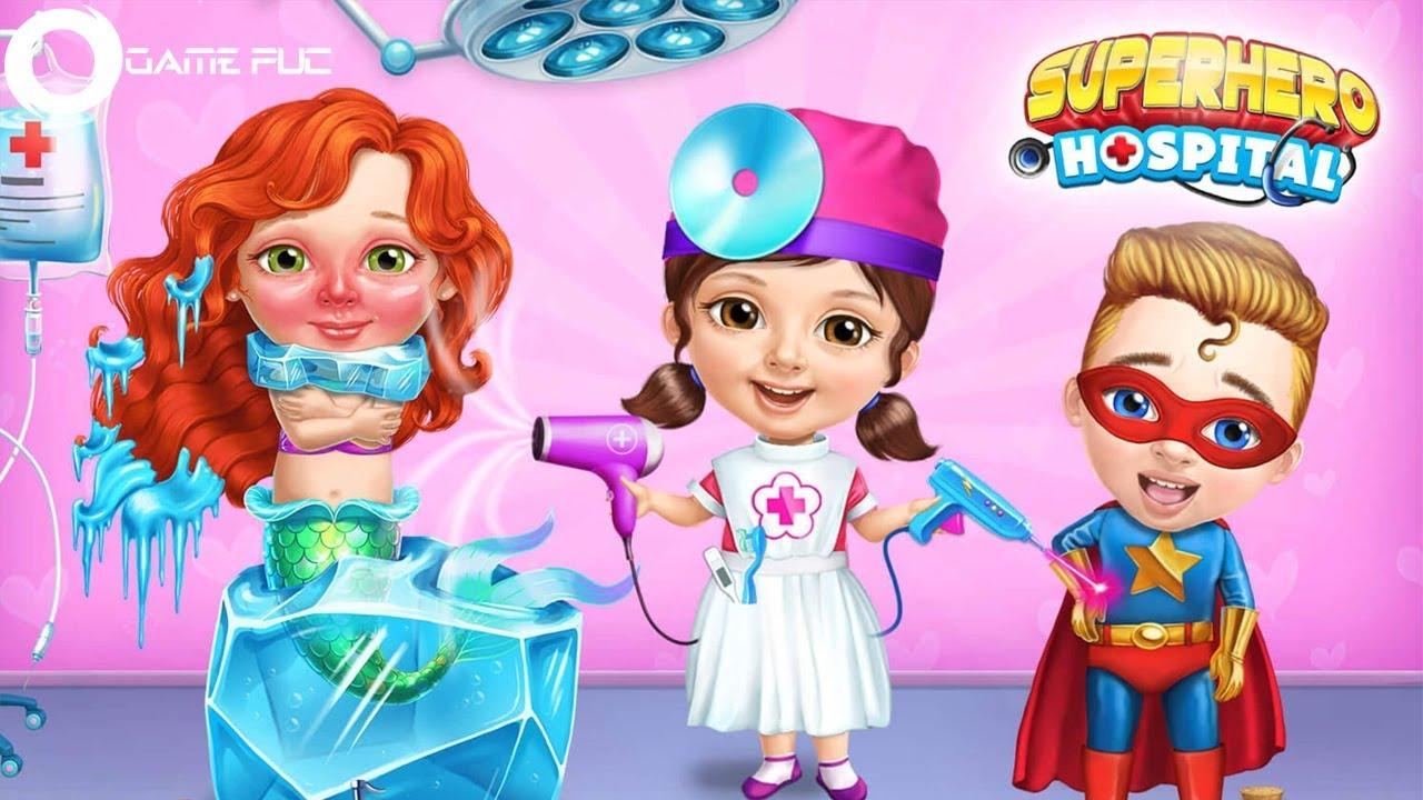 Superhero Hospital Doctor - Best Games For Kids