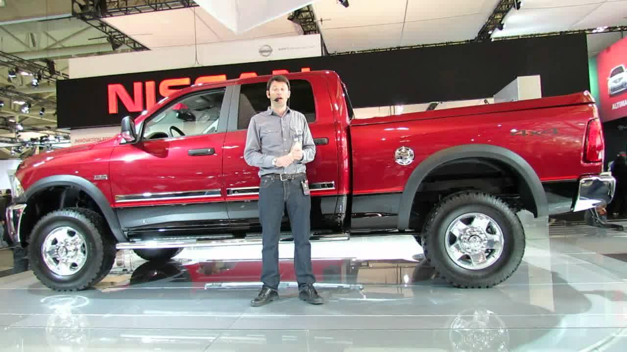 Dodge Mega Cab >> 2012 RAM 2500 Crew Cab Power Wagon Presentation at 2012 Toronto Auto Show - YouTube