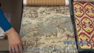 видео Американские ткани для штор