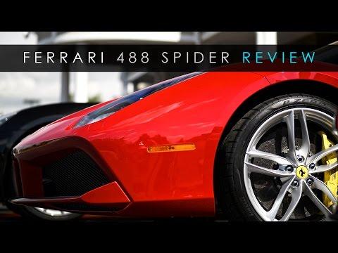 Quick Review | Ferrari 488 Spider | An Obscene Machine
