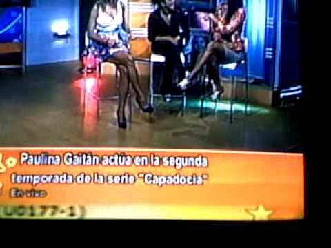 Entrevista con Paulina Gaitan en Televen