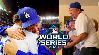 LA Dodgers Players & Fan Reactions To World Series 2020