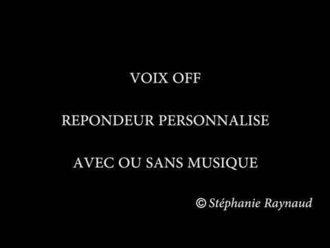 VOIX OFF Répondeur
