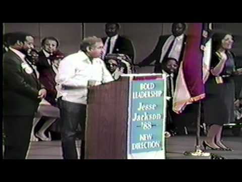 Jesse Jackson For President Atlanta Georgia 1988.mp4