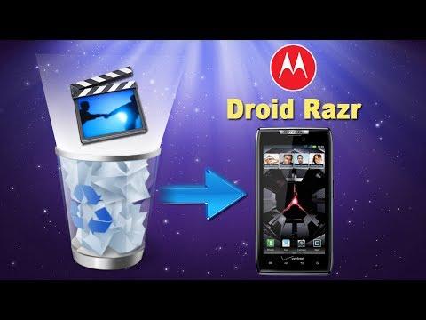 [Motorola Droid Razr Files Recovery]: How to Recover Deleted Videos from MOTOROLA Droid Razr?