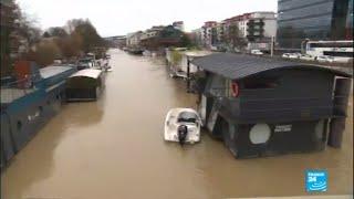 Inondations monstres à Paris : La brigade fluviale est au front