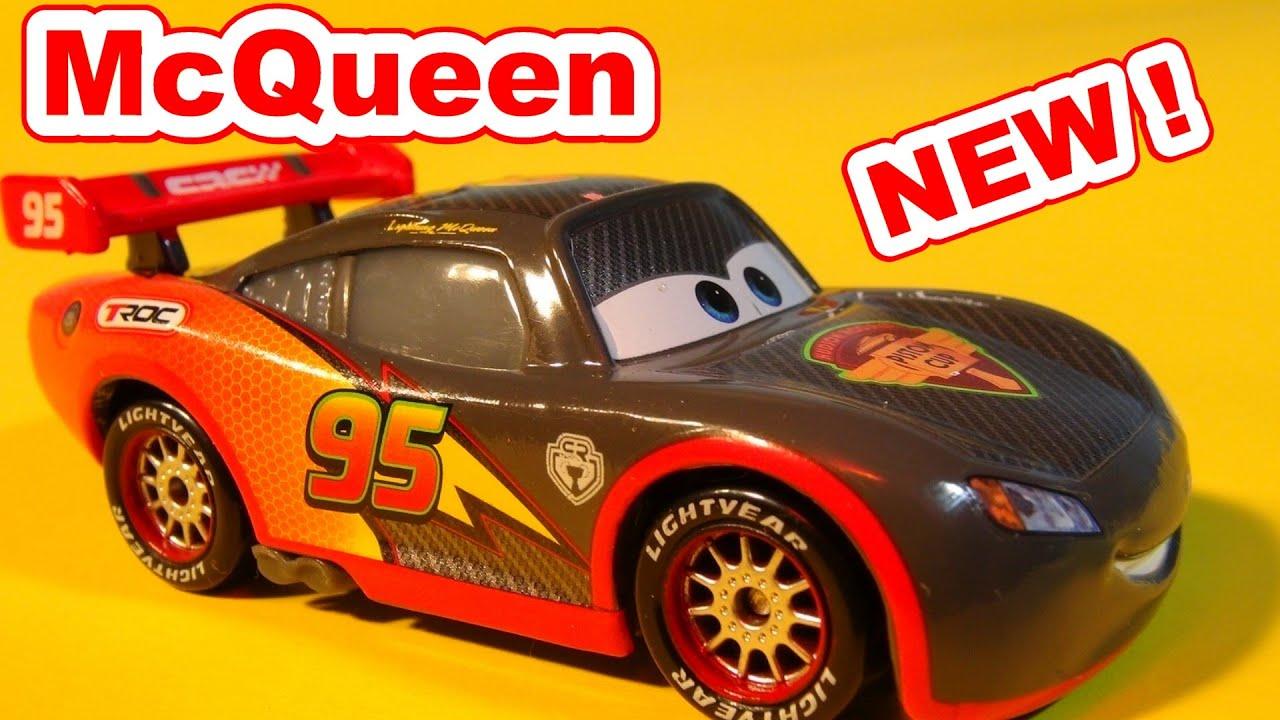 cars new car unboxing lightning mcqueen carbon fiber from disney