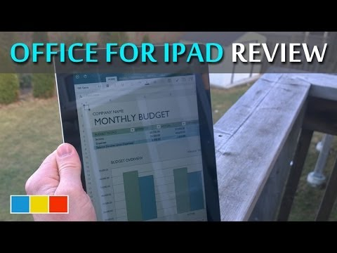 Microsoft Office for iPad Review - Productivity finally comes to iOS #officeforipad