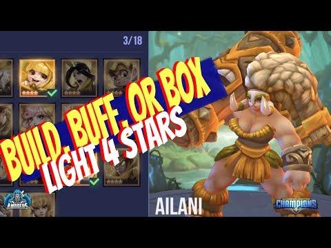Dungeon Hunter Champions:  Buff, Build, Or Box | Light 4 Star Champions