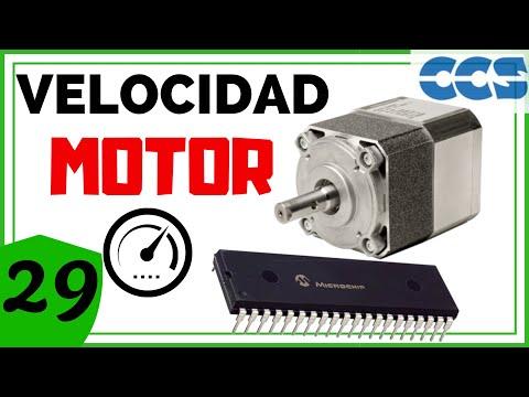 Tutorial 7.2. Velocidad de un Motor Encoder - Programación de PIC en CCS C (PIC C)