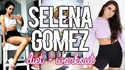 Trying SELENA GOMEZ'S Diet and Workout !!!