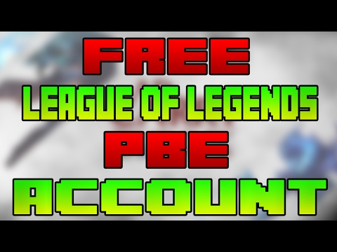 How to get a FREE PBE Account 2017 | League of Legends
