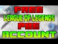 How To Get A FREE PBE Account 2017 League Of Legends mp3