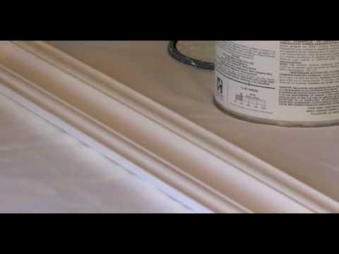 Pintar molduras youtube - Molduras de poliuretano ...