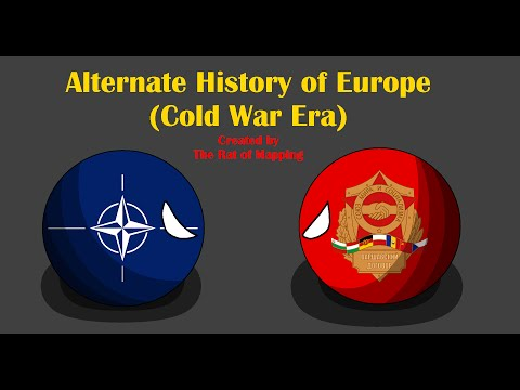 Alternate History of Europe in Countryballs (Cold War Era) Ep.1: The fight for influence begins