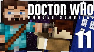 Minecraft | Doctor Who Modded Survival | Ep.11 - OFF THE DEEP END