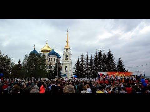 9 мая 2019. Болхов. Парад Победы
