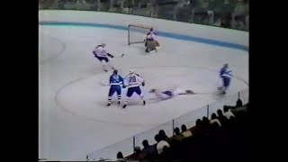 1984 Adams Division Final Montreal Canadiens vs Quebec Nordiques Game 4