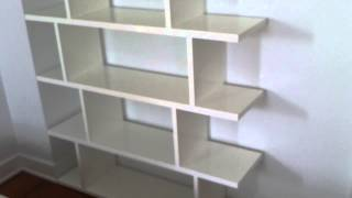 Cb2 bookcase assembly service video in DC MD VA by Furniture Assembly Experts LLC