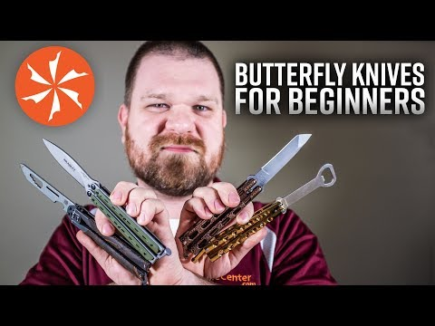 Buying Your First Butterfly Knife: The Best Beginner Balisongs and Trainers at KnifeCenter.com