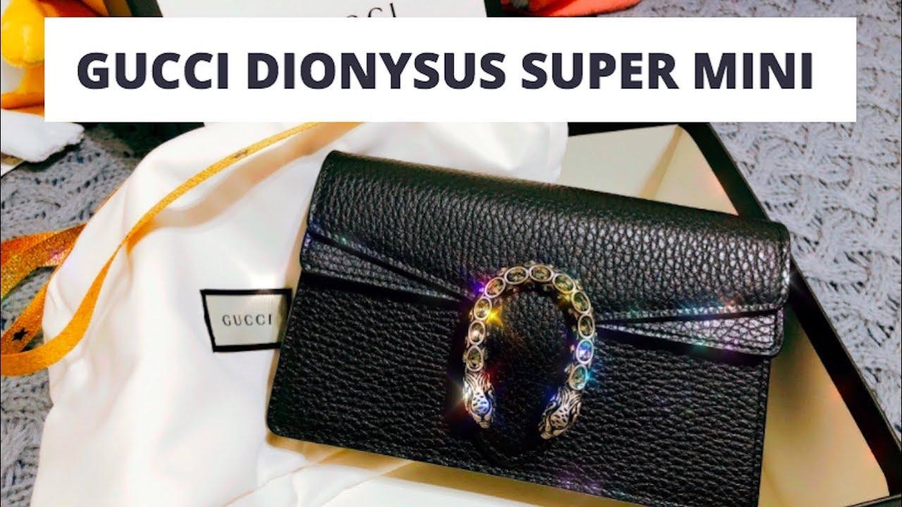 6a9c1e7ce GUCCI DIONYSUS Super Mini Bag | Too Small??? - Youtube Download