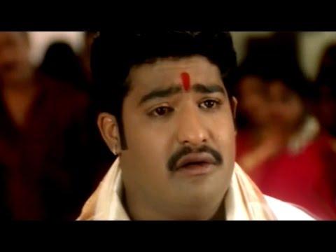 Simhadri Movie || Nasar Adopts NTR Sentiment Scene || Jr NTR, Bhoomika, Ankitha