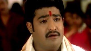 Repeat youtube video Simhadri Movie || Nasar Adopts NTR Sentiment Scene || Jr NTR, Bhoomika, Ankitha