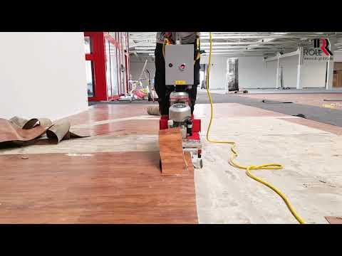 Video K113   Teppichstripper mit Antrieb